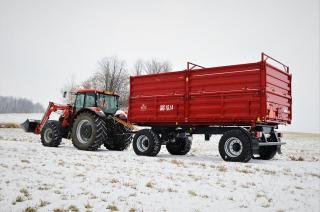 Traktorový přívěs BSS 18.14